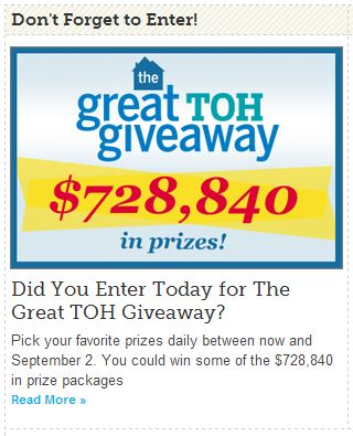 Yearning for Steam? Enter The Great TOH Giveaway From This Old House