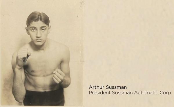 Arthur Sussman, the first Mr.Steam