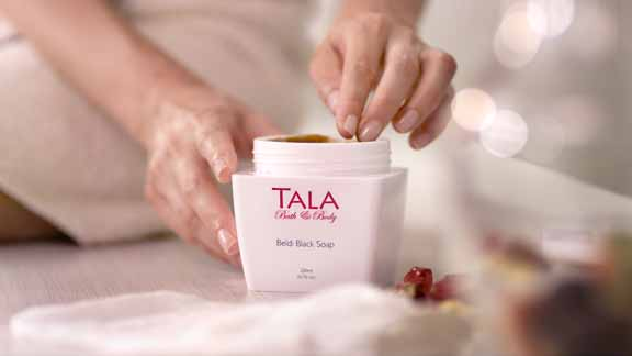 TALA® Bath & Body Moroccan Beldi Black Soap