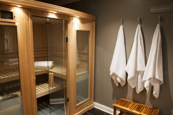 Interior Brings Benefits Of Steam To New Spa Bathroom Steam Room Bathroom Designs