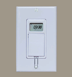 Pull the key slot out on the digital timer.