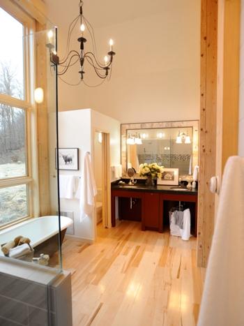 Wellborn Cabinets Master bathroom vanity 300M