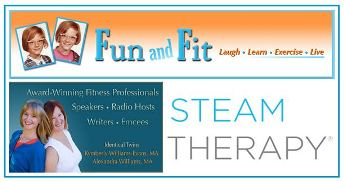 Healthy Lifestyle tips from Fun and Fit for Mr. Steam