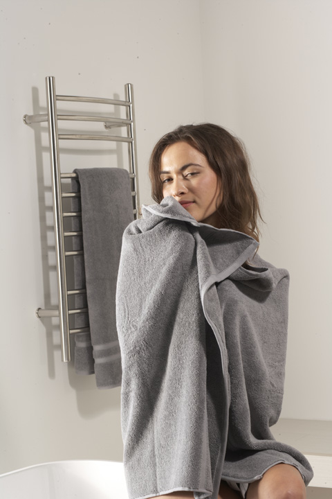 MrSteam's Towel Warmers offer a wide variety of styles.