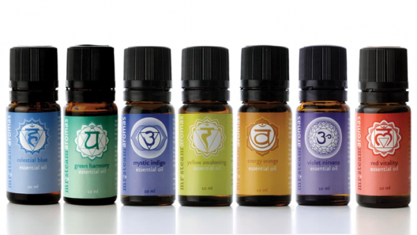 Chakra oils from MrSteam