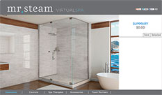 Mr Steam Enhanced Virtual Spa sm