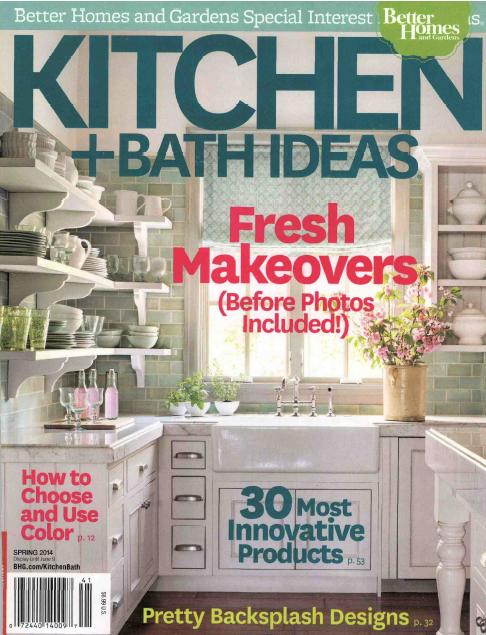 BH&G Kitchen Bath Ideas Spring 2014