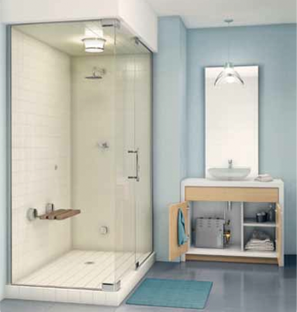 Steam@Home package from MrSteam is ideal for starter homes, urban living, and guest baths