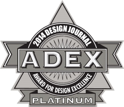 iSteam Touch Steam Shower Control Panel Selected for 2014 ADEX Award