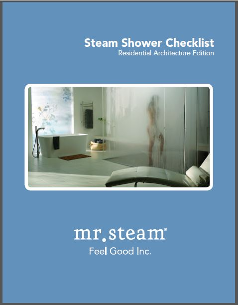 Steam shower kit for architects