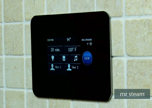 How to Customize the iSteam Control For Your Home Steam Shower