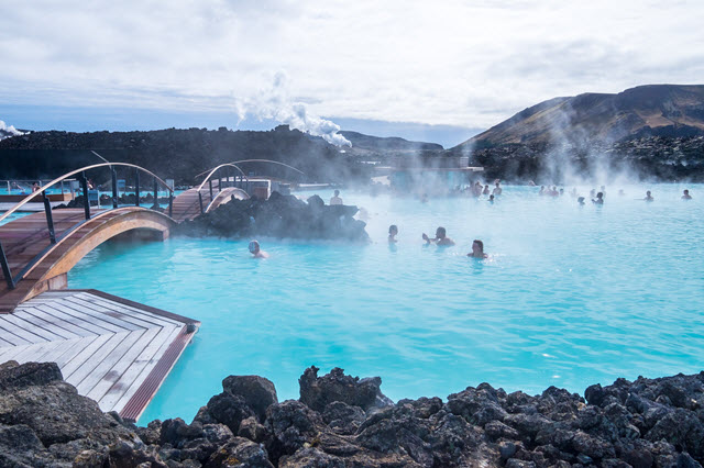 Geothermal power cures stress and the munchies.