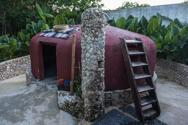 Soothe your soul with a modern take on an ancient sweat lodge.