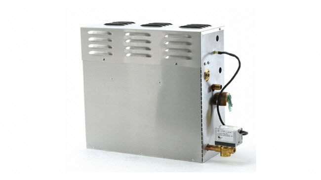 Use the MrSteam CT Day spa generator for rooms with fewer than 675 cubic feet and used six hours a day or less.