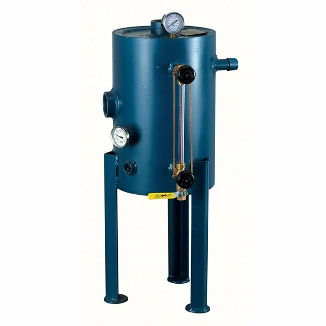 MrSteam's Automatic Blowdown System starts, stops, drains and refills each CU commercial steam generator automatically — on a pre-scheduled daily basis.