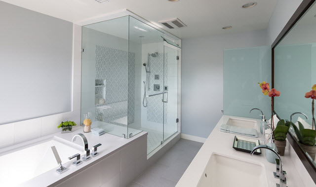 An en suite bathroom is said to be the second most-wanted feature desired from homebuyers.