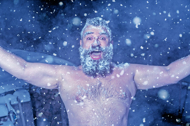 Eight Pointers for Making the Most of Your Steam Bath: take a cold plunge after 10 minutes
