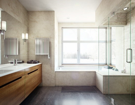 There are several factors to consider when creating a stellar bathing experience while still keeping safety in mind.