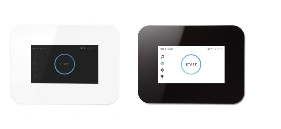 As with most MrSteam controls, the iSteam3 comes loaded with a real-time digital clock