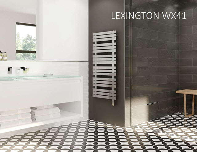 Experience the Newly Launched Lexington Towel Warmer Collection from MrSteam