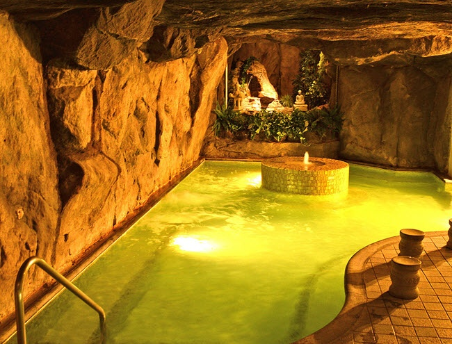 Touching down in Los Angeles' Koreatown for The Beverly Hot Springs Spa