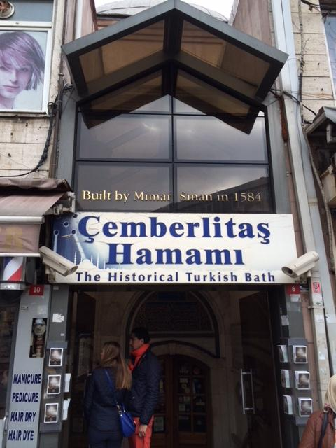 Experiencing traditional a Turkish Hammam in Istambul