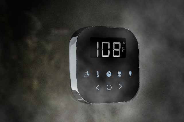 Installation means simply deciding where to locate the AirTempo, which mounts in seconds with no tools required.