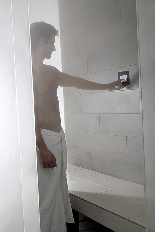 Most standard bathroom showers can be retrofitted to be a personal steam shower without investing a ton of money or effort.