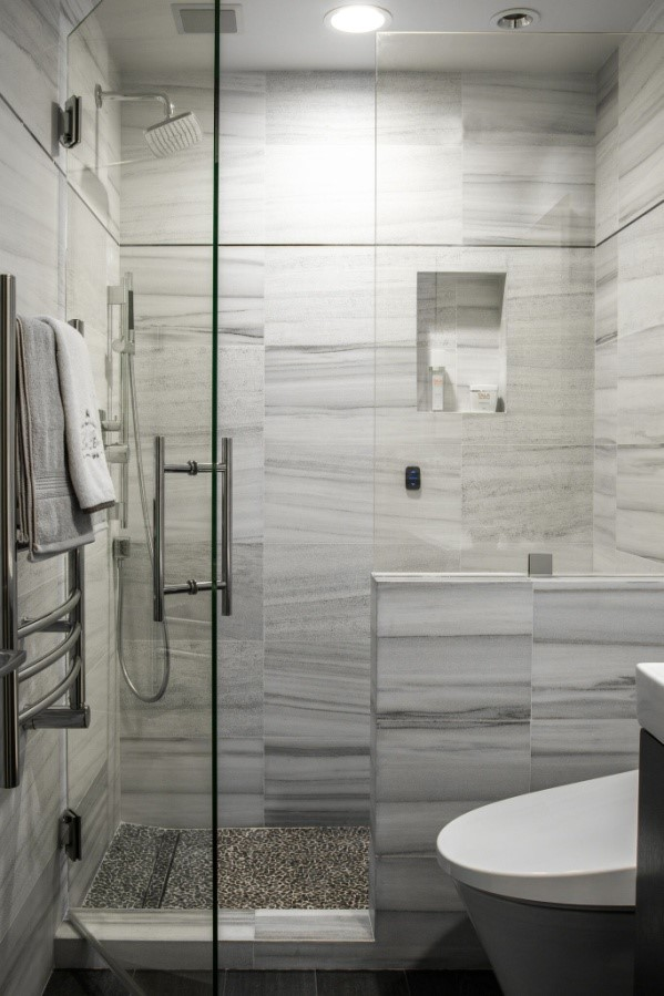 Include a towel warmer in your bathroom remodel.
