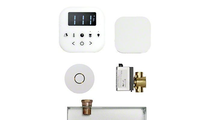 The AirButler steam shower package from MrSteam.