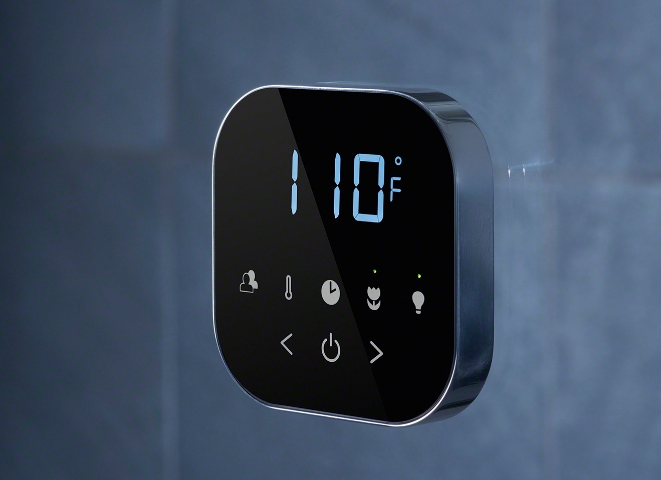 The AirTempo control features a smart, easy-to-read LED display that activates automatically as your hand approaches.