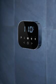 Steam shower control installation-AirTempo