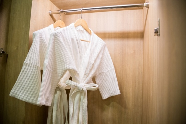 A great Valentine's Day gift – a matching pair of robes that you can both indulge in.