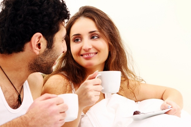 Start Valentine's Day with breakfast in bed
