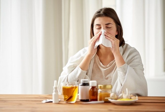 SteamTherapy tip: Blow your nose frequently to combat congestion