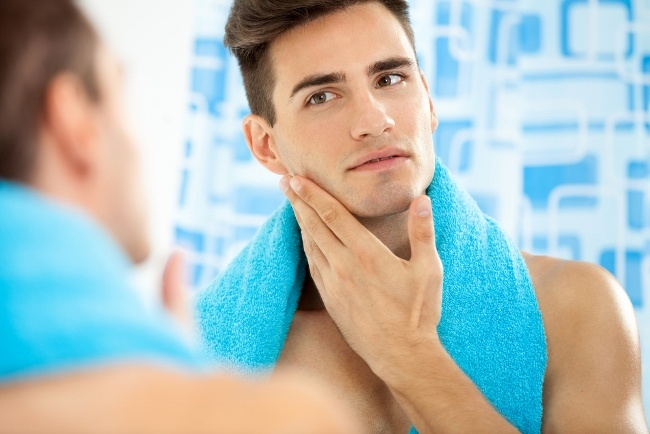 Steam showers open up pores, making for a closer shave