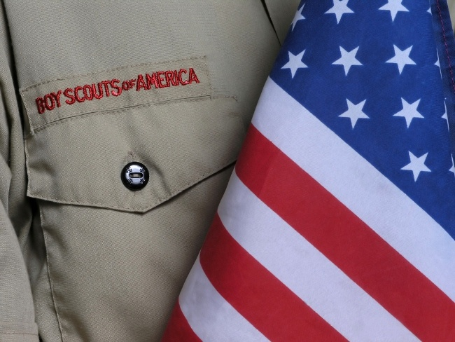 The Boy Scouts teach values such as trustworthiness, good citizenship and outdoors skills