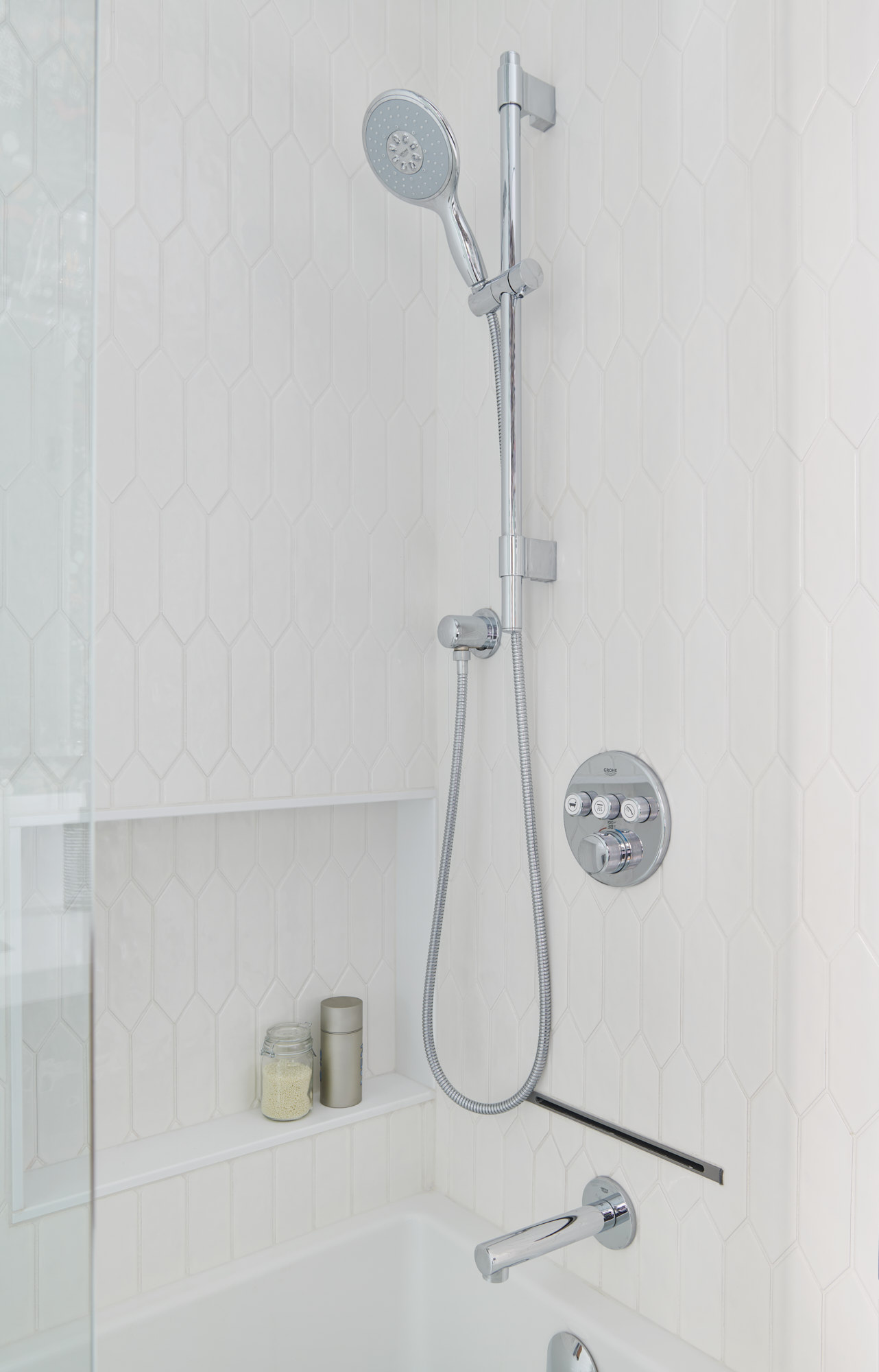 Copy of Grohe handheld shower head and hardware