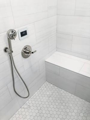 Case Study: Arianne Bellizaire Interiors Steam Shower