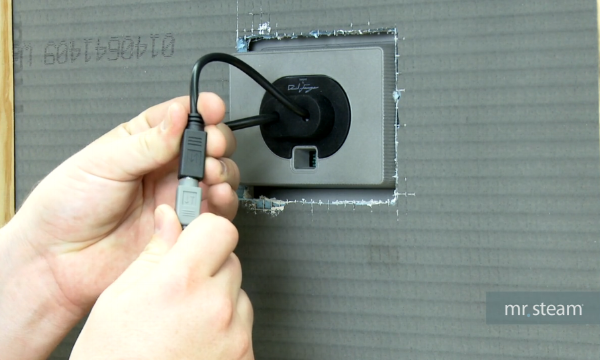 How To Connect the iMSTS Temperature Sensor To The iTempo Steam Shower Control