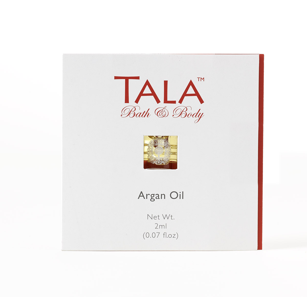 MrSteam now offers a sample size bottle of its exquisite TALA Argan Oil for authorized dealers to share with customers.
