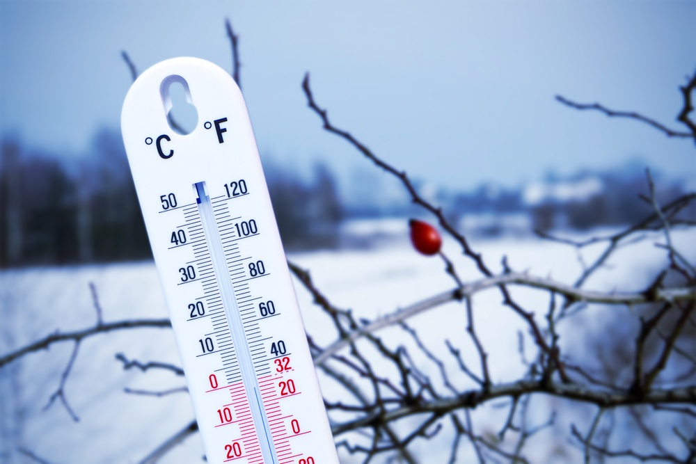 Major holiday stressor: cold weather