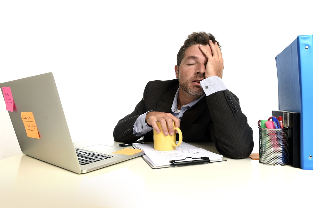 Major holiday stressor: looming year-end work deadlines