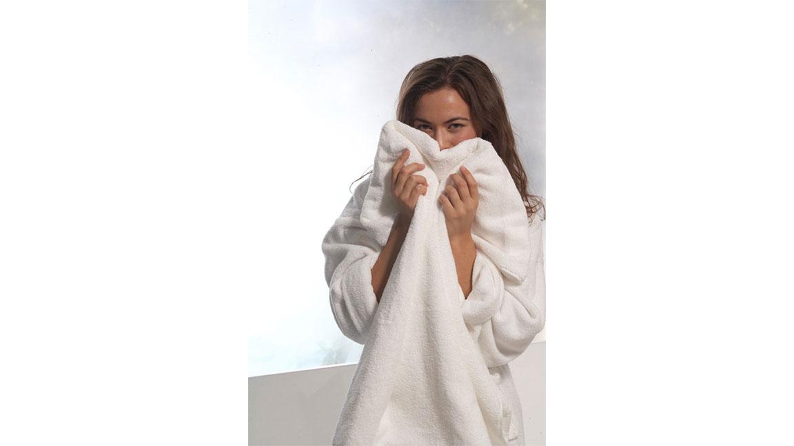 Reward #3: Hug Yourself With A Warm Towel!