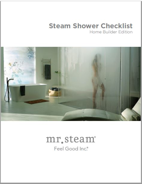 Download the Steam Shower Kit for Home Builders from MrSteam