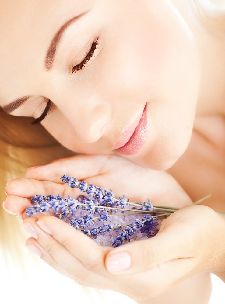 Use aromatherapy – especially lavender – to relax