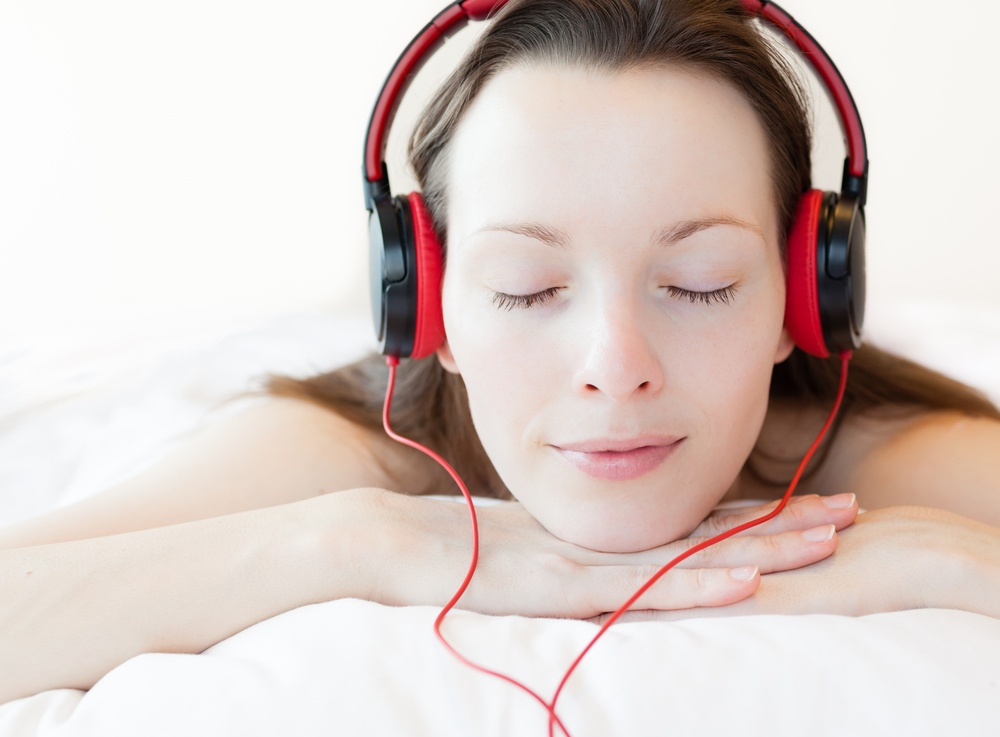 Use soft, soothing musictherapy to help you unwind