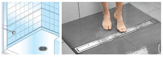 Plan the steamhead and floor drain placement