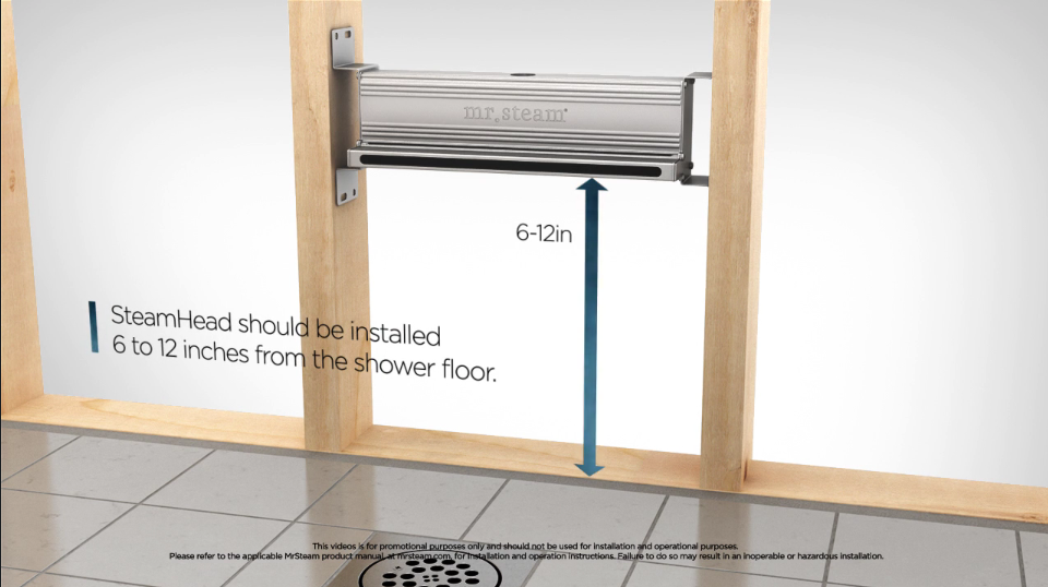 Follow our step-by-step instructions for installing the  Linear SteamHead from MrSteam