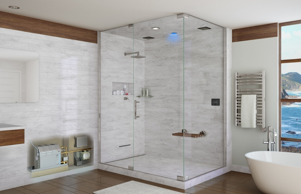 Simplify your Steam Shower Planning with the New VirtualSpa